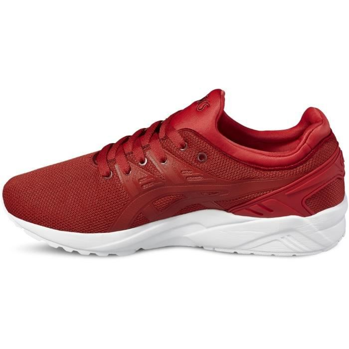 Asics Gel-Kayano Trainer Evo H707N-2323 Homme Baskets Blanc,Rouge