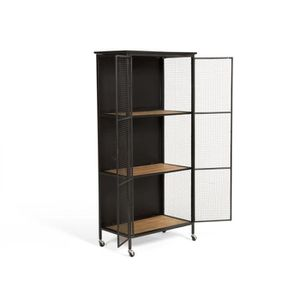 vaisselier industrielle achat vente pas cher. Black Bedroom Furniture Sets. Home Design Ideas