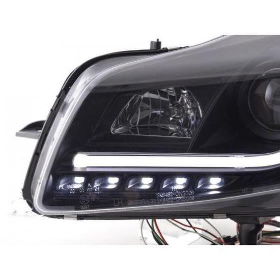 FK Automotive FKFSOP13005 Feux de Jour avant Noir