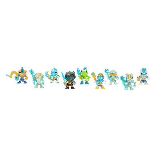 Trésor X Dragons TWIN PACK Figurine excaver /& révéler Or Véritable Jouet