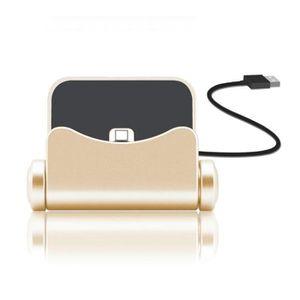 CHARGEUR TÉLÉPHONE (Or) I-Tronixs Chargeur de telephone USB Dock   Cl