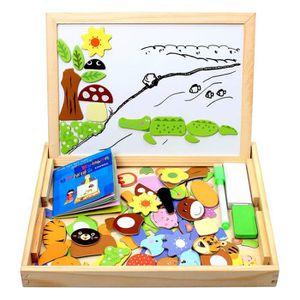 PUZZLE SuperLove® 100PCS magnétique puzzles en bois dessi
