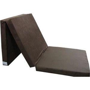 FUTON Matelas lit futon pliable pliant 195 x 65 x 8 cm c