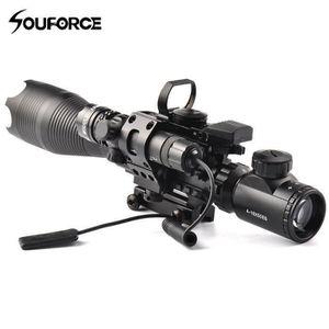 TÉLESCOPE 4-16X50EG Viseur laser point Vert pour Fusil Pisto