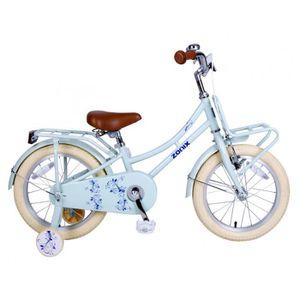 VÉLO ENFANT Vélo Fille Zonix 16 Pouces Frein à Rétropédalage e