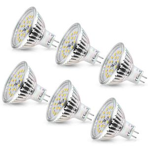 AMPOULE - LED MR16 LED Blanc Froid Wowatt Ampoule GU5.3 12V 6W E