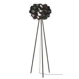 LAMPADAIRE Lampadaire design STORM noir en PVC