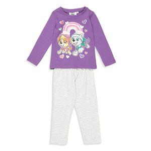 PYJAMA PAT'PATROUILLE Pyjama Violet et Gris Clair Enfant