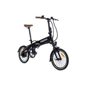 VÉLO ASSISTANCE ÉLEC MOMABIKES Vélo électrique E-16 - Pliant - Cadre :
