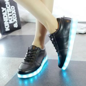 BASKET Hommes ou femmes LED allumée chaussures hiver chau