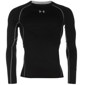 T-SHIRT MAILLOT DE SPORT Under Armour Heatgear Core Manches Longues Baselay 584d9e6e97d8