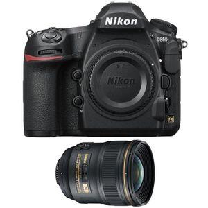 PACK APPAREIL RÉFLEX Nikon D850 Nu + AF-S Nikkor 24mm f/1.4G ED
