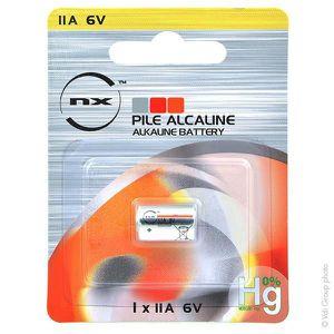 PILES Pile alcaline blister x1 NX 11A - 0% Hg 6V 38mAh