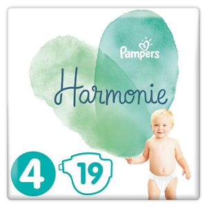 COUCHE Couches harmonie T4 x19 Pampers
