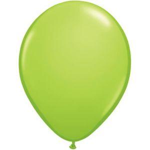 Perle turquoise vert Qualatex 5 ballons de latex x 10