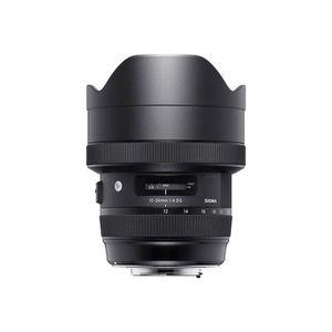 OBJECTIF SIGMA objectif 12-24 mm f/4 DG HSM ART pour Canon