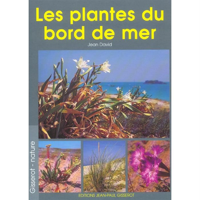 les plantes du bord de mer achat vente livre jean david editions gisserot parution 01 03. Black Bedroom Furniture Sets. Home Design Ideas