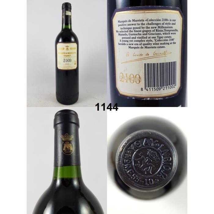 Marqués de Murrietta Colleccion 2100 1996, Rioja Doca, Rouge