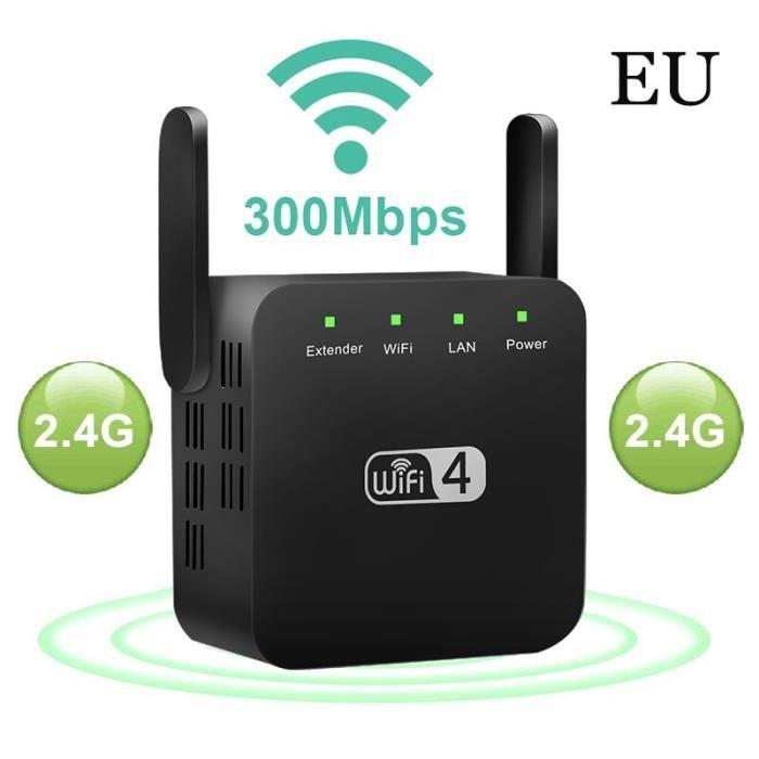 Amplificateur de Signal longue portée sans fil WiFi répéteur 5G 1200Mbps amplificateur de Signal longue portée~EU 2.4G B*PD3633