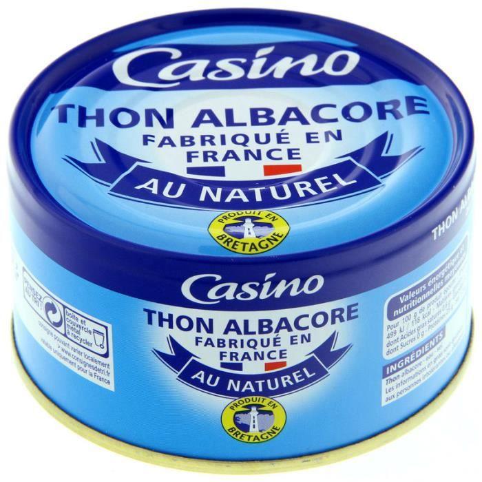 Thon albacore au naturel - 140g
