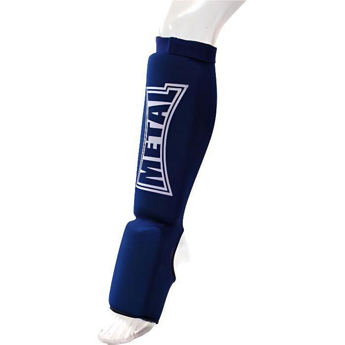 Protège tibias-pieds bleu XXS Bleu