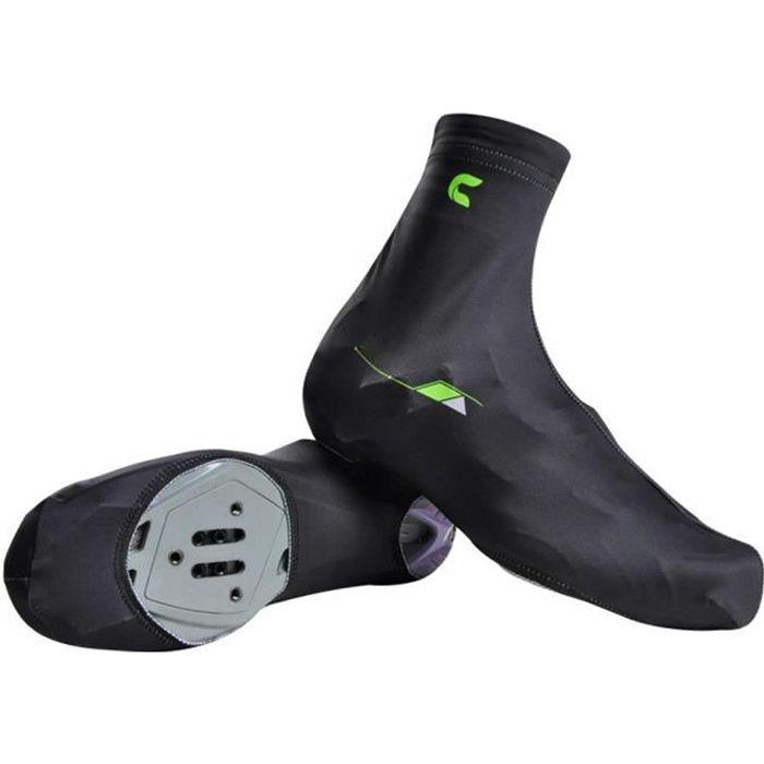 1 paire Couvre-chaussures thermique de vélo Hommes et femmes été Mountain Bike cyclisme Shoe Cover noir