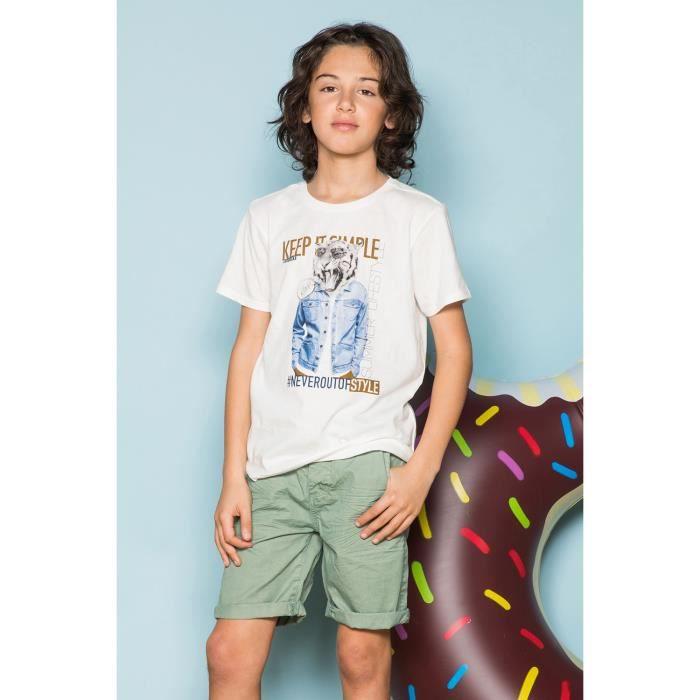 T-shirt avec photo tigre