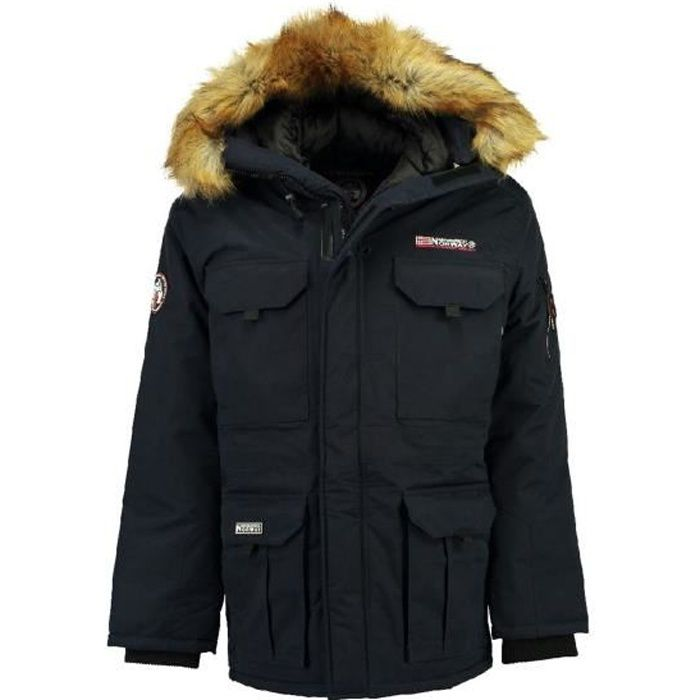 Parka Homme Geographical Norway Bottle Marine