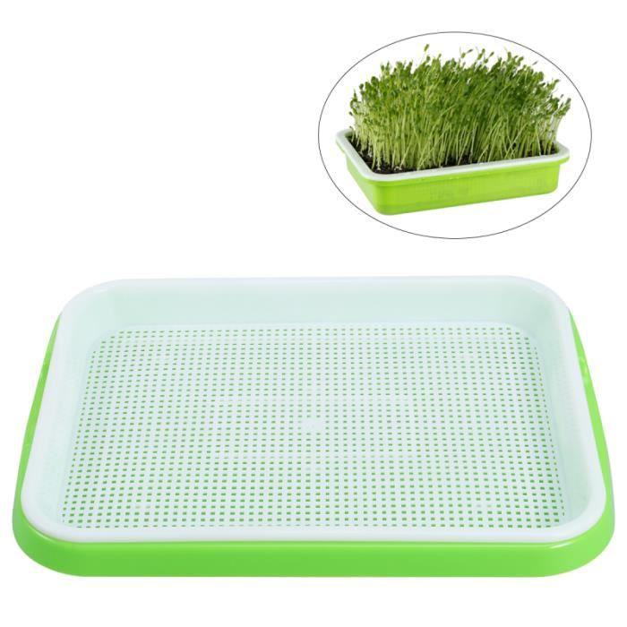 1PC Semences Sprouter Pratiques Durables Plateaux de Culture de Graines Portable pour Yard Home JARDINIERE - BAC A FLEUR