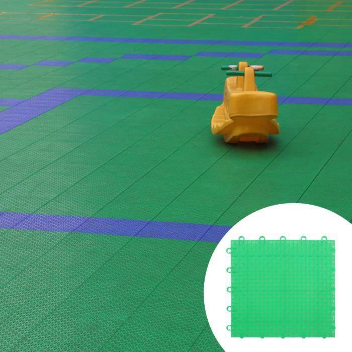6pcs extérieur antidérapant plancher épissage tapis de sol couverture de sûre TAPIS DE SOL - TAPIS DE GYM - TAPIS DE YOGA