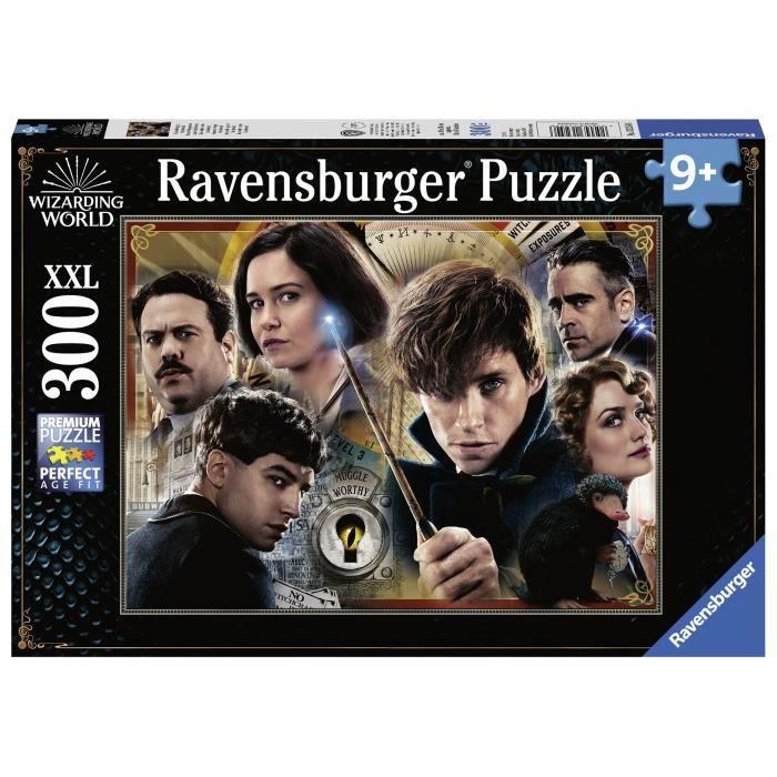 RAVENSBURGER Puzzle 300 p XXL - Norbert Dragonneau contre Grindelwald / Animaux fantastiques