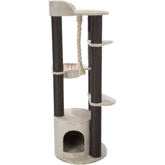 TRIXIE Arbre à chat Tomás XXL - 163 cm - Gris clair