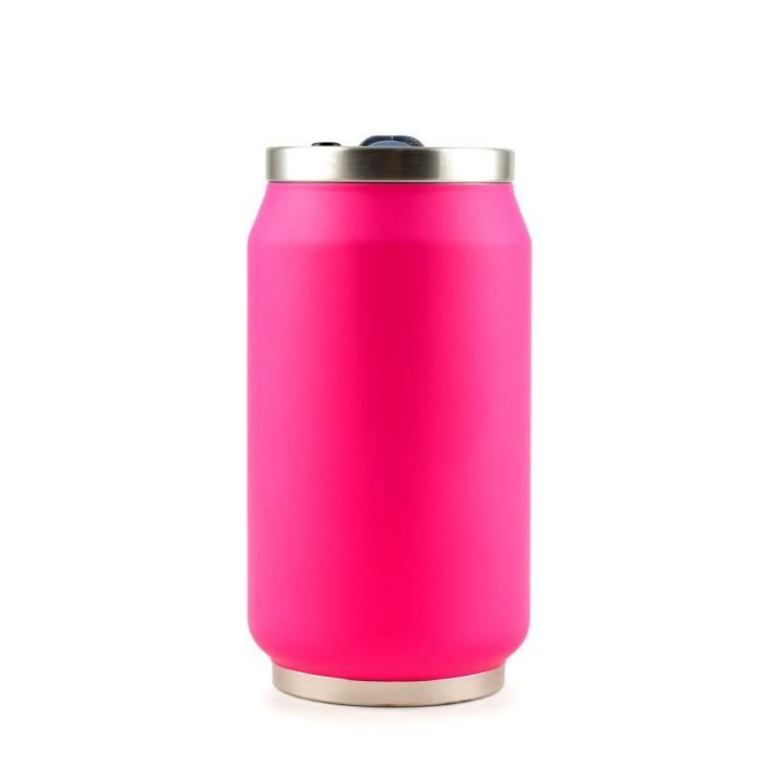 YOKO DESIGN Canette isotherme summer 280ml fluo fuchsia