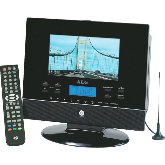 Tele ecran 15 cm lcd dvd radio usb carte sd achat for Ecran photo usb