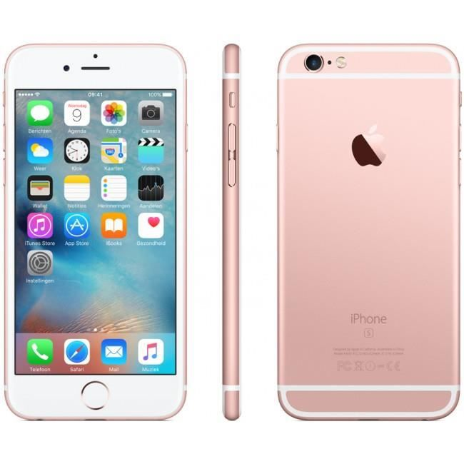 apple iphone 6s smartphone 16gb rose achat smartphone. Black Bedroom Furniture Sets. Home Design Ideas