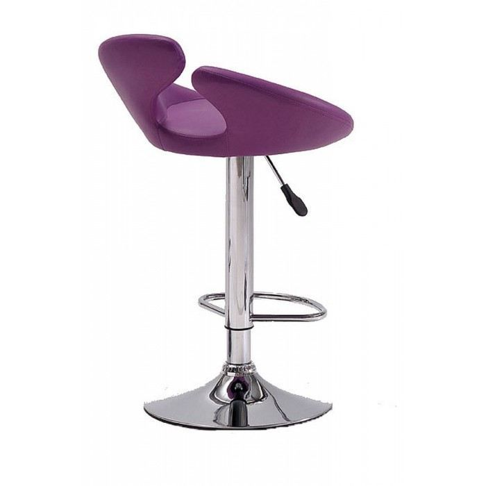 tabouret de bar design donna couleur violet mat achat vente tabouret de bar acier. Black Bedroom Furniture Sets. Home Design Ideas