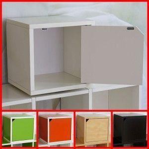 cube m73 modulable avec porte blanc