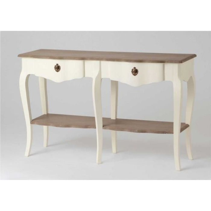 console drapier estine blanc achat vente console console drapier estine blanc les soldes. Black Bedroom Furniture Sets. Home Design Ideas