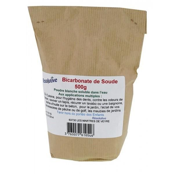 bicarbonate de soude 500 gr qualite alimentaire achat vente bicarbonate de soude. Black Bedroom Furniture Sets. Home Design Ideas