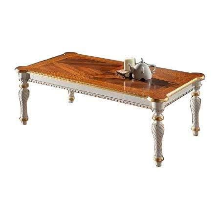 Table de salon finition la feuille d 39 or achat vente table basse tab - Table salon cdiscount ...