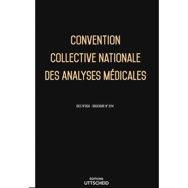 Convention Collective Analyses Medicales Decembre 2017 Grille De Salaire