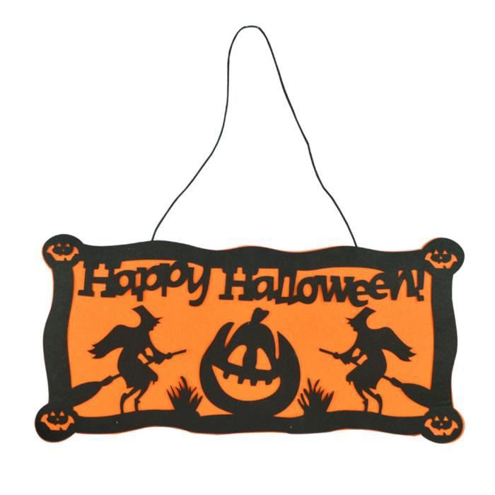 Decoration halloween plaque pendentif murale de haunted for Decoration murale halloween