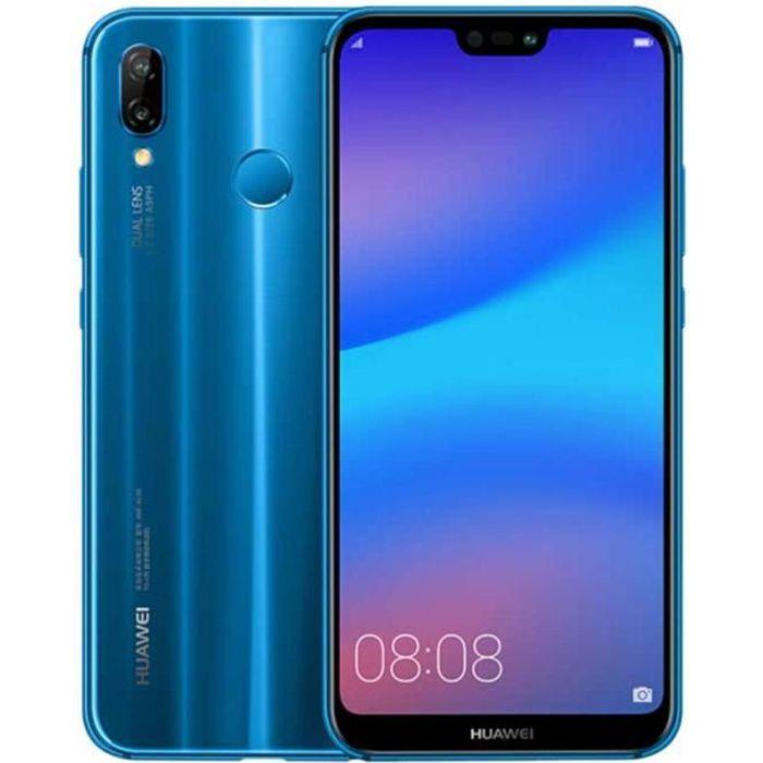"""SMARTPHONE HUAWEI P20 Lite (Nova 3E) 5.84"""" FHD 128Go Bleu"""