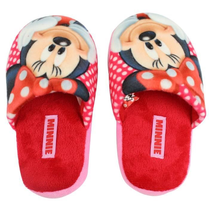 Taille 29/30 * Chaussons Pantoufles MINNIE Disney Fille Polyester sSBfr