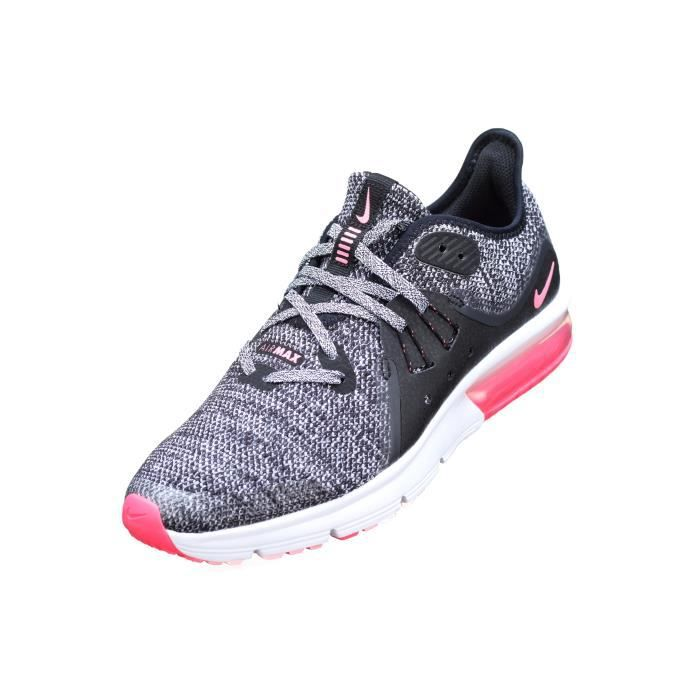 official photos 4b4af 00767 Basket Fille Nike Air Max Sequent 3 Gs 922885 -.