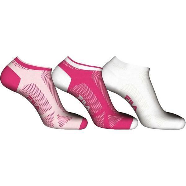 3 lot de 3 paires de socquettes femme coton