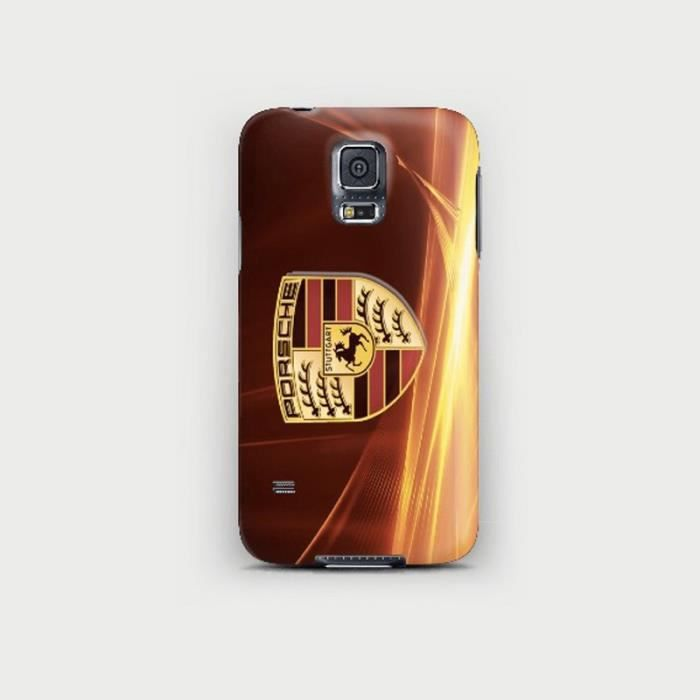 coque samsung galaxy s5 logo porsche achat coque. Black Bedroom Furniture Sets. Home Design Ideas
