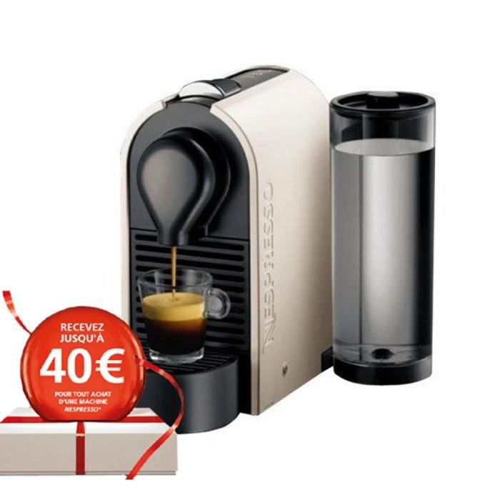 destockage krups yy1301fd nespresso u pure machine expresso au meilleur prix cdiscount. Black Bedroom Furniture Sets. Home Design Ideas