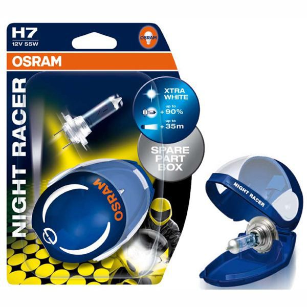 ampoules osram night racer h7 12 achat vente ampoules osram night racer cdiscount. Black Bedroom Furniture Sets. Home Design Ideas
