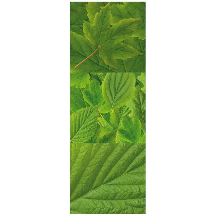 STICKERS PLAGE Sticker déco - Feuillage 1 Planche 24x68cm